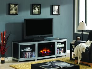 TV-meubel met sfeerhaard